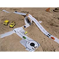 Rolla moulds set of clip together customizeable play strips (graphics not included) beach or garden