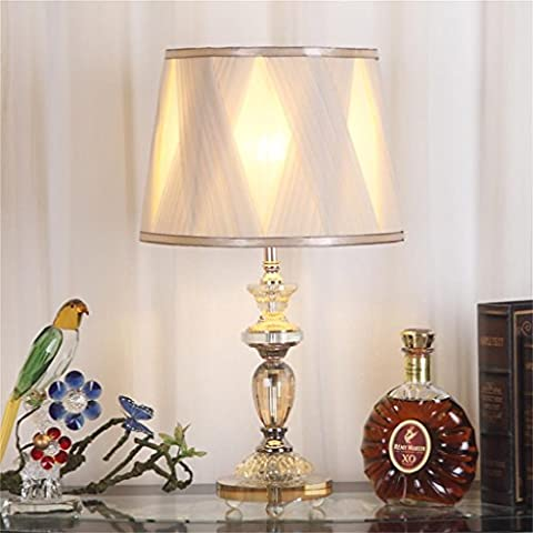 Lampada in cristallo moderna lampada da letto