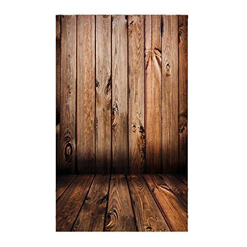 Demiawaking Dünne Holz Maserung Fotografie Hintergrund Foto Hintergrund Tuch Fotostudio Requisiten 0.9x1.5m
