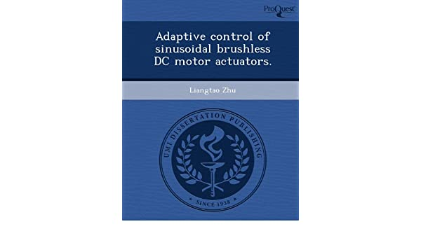 Buy Adaptive Control of Sinusoidal Brushless DC Motor