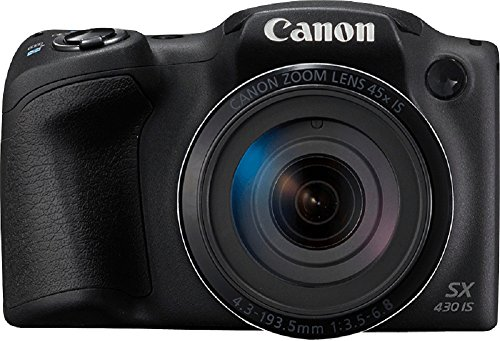 Canon PowerShot SX430B 20MP Digital Camera with 45x Optical Zoom...