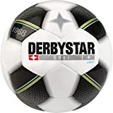 Derbystar Kinder Fussball 68er Light 350g weiß schwarz blau 5