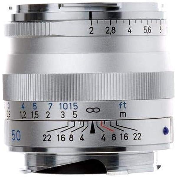 Zeiss Ikon Plannar T Zm 2 50 Standard Kameraobjektiv Kamera