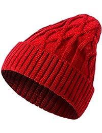 Styledresser Cappelli da Uomo Uomo Le Signore A Maglia di Lana Inverno  Oversized Ciondolare Beanie Cappello faed4c754c7c