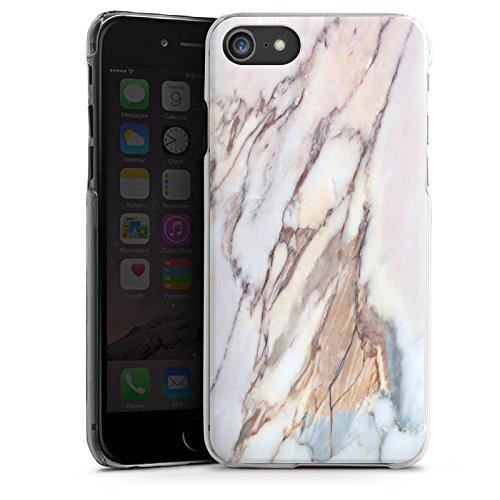 Apple iPhone X Silikon Hülle Case Schutzhülle Marmor Marble Look Muster Hard Case transparent