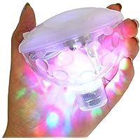 Con diseño de Ailiebhaus Unterwasserlicht LED-iluminación de la piscina 5 diferentes tipos de luz bola del disco de la luz de luces luz bajo el agua flotando demostración de la luz del partido