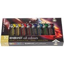 Rembrandt oil paint paper treasuring 10 color set (japan import)