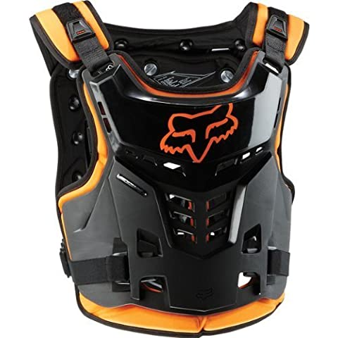 Fox Racing Proframe LC Youth Boys Roost Deflector MotoX/Off-Road/Dirt Bike Motorcycle Body Armor - Orange / One Size by Fox Racing