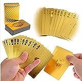 LLF Luxury 24K Gold Foil Poker Playing C...