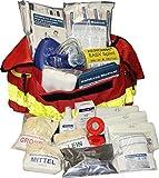 """Erste Hilfe Notfalltasche """"Start"""" für Sportvereine - rot - Nylonmaterial"""