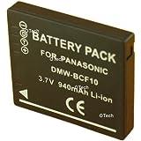 Batterie compatible pour PANASONIC DMW-BCF10E