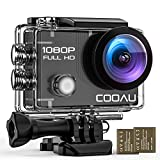 COOAU Action Camera WiFi Full HD 1080P Underwater 30M Sports Camcorder 2 Inch LCD 170° Ultra Wide Angle