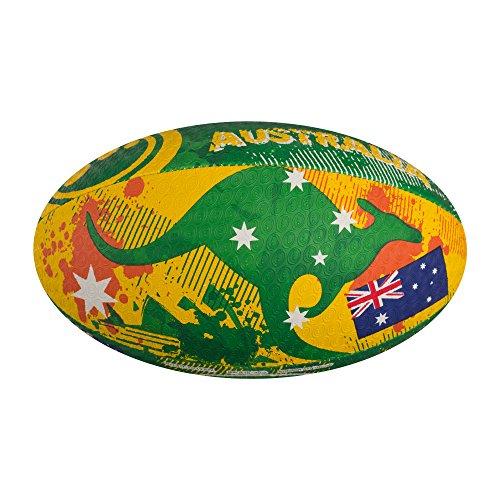 Optimum Nations Mini - Pelota de rugby, color Multicolor (Australia), talla n/a