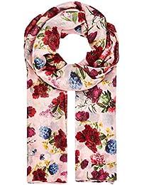 HALLHUBER Peony print scarf