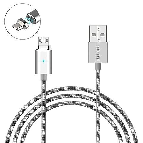 dodocool Magnetisches Micro USB Ladekabel Datenkabel 1,2m