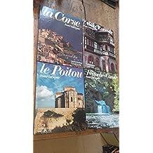 Lot 4 livres beautés de la France Larousse - La corse - le poitou -L'Alsace et la Lorraine - La Franche Comté touristique -