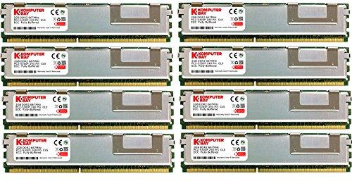 Komputerbay Arbeitsspeicher, 16 GB RAM (8 x 2 GB), FBDIMM, 667 Mhz, PC2-5300, ECC DDR2, Dual Rank 2Rx 8
