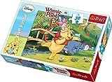 Trefl 18167 - Puzzle, soggetto: Winnie the Pooh - Giocare con gli amici, 30 pz, 21,3 x 14,3 cm
