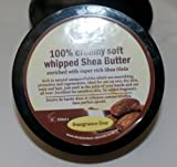 100% Creamy Soft whipped Unrefined Supreme Shea Butter Enriched with Shea Olein like Nilotica shea Butter 250g. Soft and creamy, Rich in Natural Vitamins and Unsaponifiabless