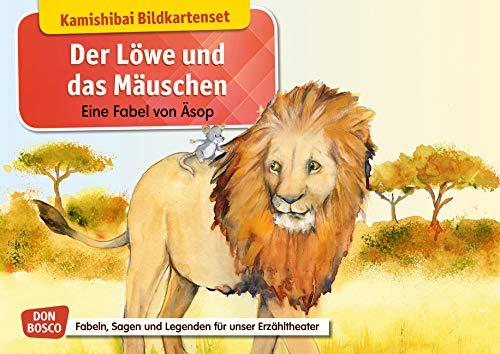 Der Löwe und das Mäuschen. Eine Fabel von Äsop. Kamishibai Bildkartenset.: Entdecken - Erzählen - Begreifen: Fabeln, Sagen und Legenden