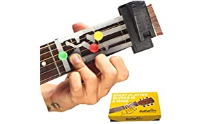 GUITAR BRO - 30 Days Learning Course (Includes Video Lectures, Song Book, Accessories, Learning Device [Right Handed Version], Free Guitar Picks, Progress Tracker, 10 Days Mentorship)