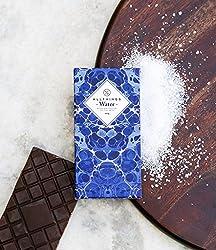 All Things Water Belgian Milk Chocolate With Fleur De Sel/ Sea Salt Handmade Bar, 100g [Pack Of 2]