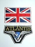 Stargate SG-Atlantis-Team Set de raccordement avec drapeau Union Jack