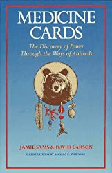 Medicine Cards: The Discovery of Power Through the Ways of Animals by Jamie Sams (1988-09-02)