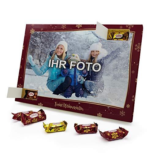 printplanet - Marzipan Adventskalender mit eigenem Foto - gefüllt mit Zentis® Pralinés aus Edelmarzipan