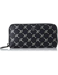 Cortina Metallic Melete Purse Mh15z, Womens Wallet, Schwarz (Black), 1x9x19 cm (B x H T) Joop