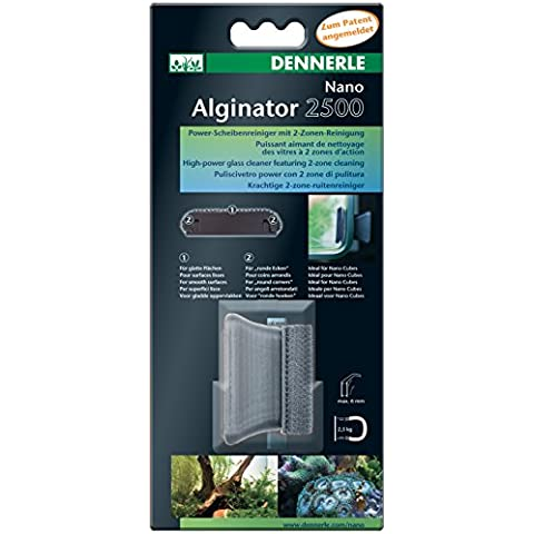 Algae Magnet Disk Cleaner Fish Tank Tropical - Dennerle Nano Alginator 2500 by Dennerle