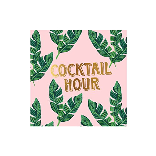 C.R. Gibson Papierserviette Cocktail-Serviette Cabana Club