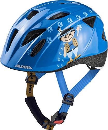 Alpina Kinder Ximo Fahrradhelm, Indian, 49-54 cm