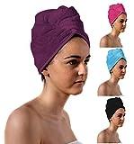 Romano Luxury Hair Drying Turban Wrap, S...