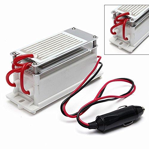 MASUNN Dc 12V 7G Luftreiniger Air Sterilisator Portable Ozone Generator Auto Keramikplatte Generator-plug-adapter