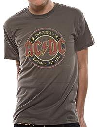 Live Nation shirt Homme - Ac/Dc - Australia Est 1973