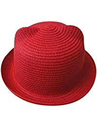 ZARLLE Sombrero Del Bebe Cap Los NiñOs Sombrero De Paja Transpirable Hat  Kids Hat Boy Girls 8b68c6d552f