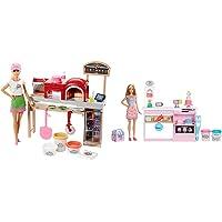 Barbie La Pizzeria Con Bambola, Tavolo Per Le Pizze, Forno E Pasta Da Modellare, Giocattolo Per Bambini 3 + Anni & La…