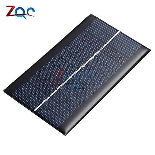 Mini 6V 1W SolarStrom-Panel SolarAnlage DIY für Batterie-Handy-LadeGeräte tragbare Solar-Panel für handliches Ladegerät