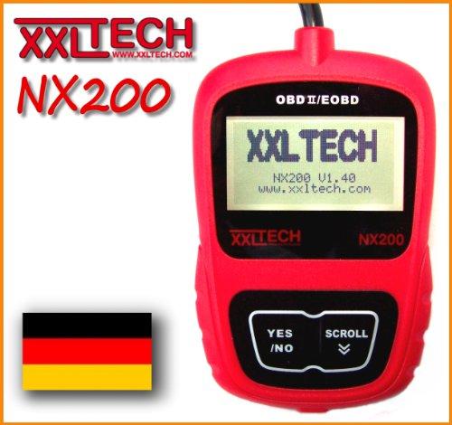 Preisvergleich Produktbild XXL Tech KWP2100 NX200 Can Bus Diagnose Scanner Deutsch OBD 2