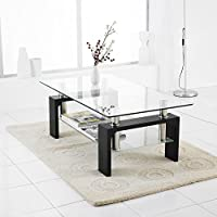 Amazon.co.uk: Glass - Tables / Living Room Furniture: Home & Kitchen