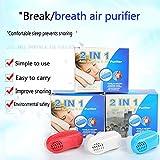 LTQ&Qing Dispositivo De Ronquido para Respiradores Nasales Modelos Explosivos Prevención del Ronquido Ventilación De Ventilación Nasal Actualización (Paquete De 3)