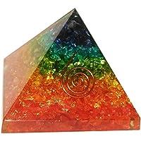 mit mehreren Schmucksteinen orgainte Pyramide Heilung Kristalle Reiki organite Pyramide Reiki Spritual Geschenk... preisvergleich bei billige-tabletten.eu