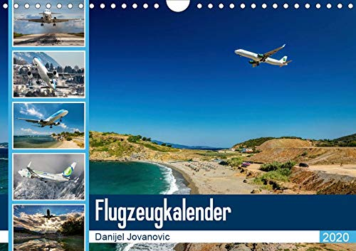 Flugzeugkalender 2020AT-Version (Wandkalender 2020 DIN A4 quer): Der Kalender für Fans der Luftfahrt (Monatskalender, 14 Seiten ) (CALVENDO Orte) - Luftfahrt-kalender