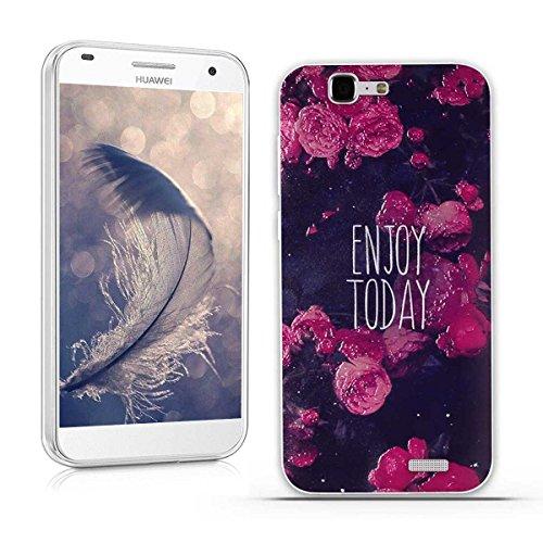 Huawei Ascend G7 (L01 L03 C199) Hülle, Fubaoda 3D Erleichterung Gute Qualität Muster TPU Case Schutzhülle Silikon Case für Huawei Ascend G7 (L01 L03 C199)