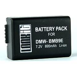 LOOKit Batterie BMB9 E - pour Panasonic Lumix DMC FZ82 FZ72 FZ45 FZ48 FZ100 FZ150 FZ62 FZ60