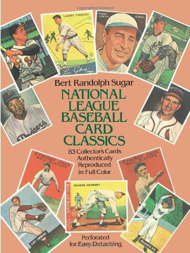 National League Baseball Card Classics by Bert Randolph Sugar (1982-08-01) par Bert Randolph Sugar