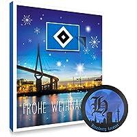 Hamburger SV Adventskalender, Weihnachtskalender 2018 HSV - Fairtrade-zertifiziert © - plus gratis Aufkleber forever Hamburg