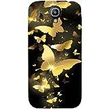Best Samsung S4 Case - Casotec Golden Butterfly Pattern Design Hard Back Case Review
