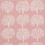 Tela rosa claro árbol crema claro de Alexander Henry
